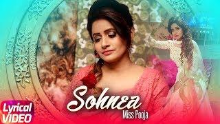 Sohnea (Lyrical Song) | Miss Pooja Feat. Millind Gaba | Punjabi Lyrical Songs | Speed Records