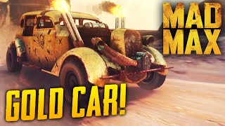 getlinkyoutube.com-Mad Max Game: Hidden RARE Car Location! The Golden Tuska Gameplay Guide - PS4 1080p 60fps
