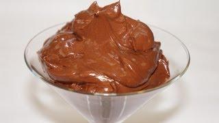 getlinkyoutube.com-crème au chocolat facile  (CUISINERAPIDE)