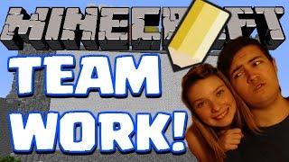 "getlinkyoutube.com-Minecraft | ""BEST TEAM EVER!"" | Draw My Thing With My Girlfriend!"