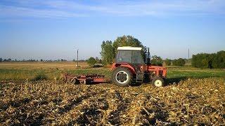 getlinkyoutube.com-Talerzowanie po kukurydzy 2015 ☆ Zetor 7211 ㋡ Agro Ciapek