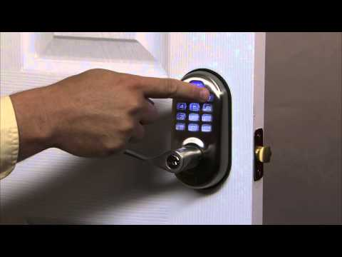 Yale Real Living Push Button Lever Lock Programming - Auto Re-lock 04