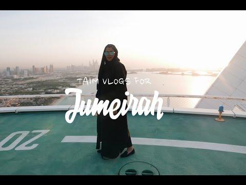 فخامة وفوقها سبع نجوم -  برج العرب و منظر ساحر لدبي #JumeirahInside