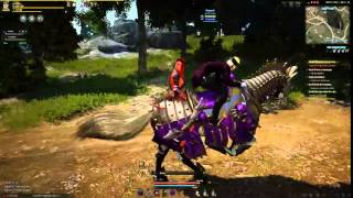 getlinkyoutube.com-Black Desert - Siege Elephant And 2 Seater Horse