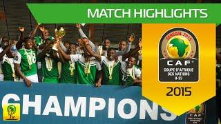 Nigeria vs Algeria - Final | U-23 Africa Cup Of Nations, SENEGAL 2015