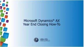 getlinkyoutube.com-Microsoft Dynamics AX Year End Closing How To