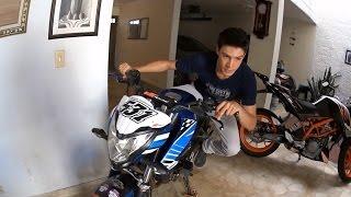 getlinkyoutube.com-¿Cómo tomar una curva en moto? || How to cornering on a motorcycle? || Postura y técnica paso a paso