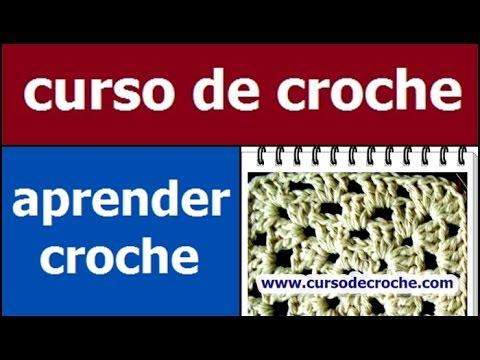 CROCHE AULA 24 SQUARE EM CROCHE COM INICIO QUADRADO