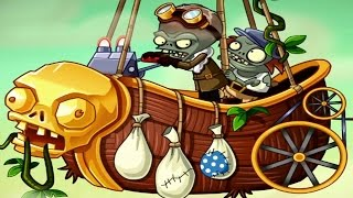 getlinkyoutube.com-Plants vs. Zombies 2: Lost City Part 2 Trailer (NEW Zomboss & Plants)