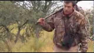 getlinkyoutube.com-Water buffalo Hunt with Smith&Wesson .500 handgun