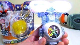 getlinkyoutube.com-【仮面ライダーゴースト】DXムゲンゴーストアイコンでムゲン魂に変身だ! 発光 全音声 ヲタファの遊び方レビュー / Kamen Rider Ghost DX Mugen Ghost Eyecon