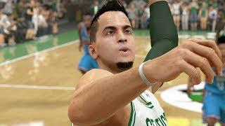 getlinkyoutube.com-NBA 2k14 My Career PS4 - Nasty Injury Ep.23