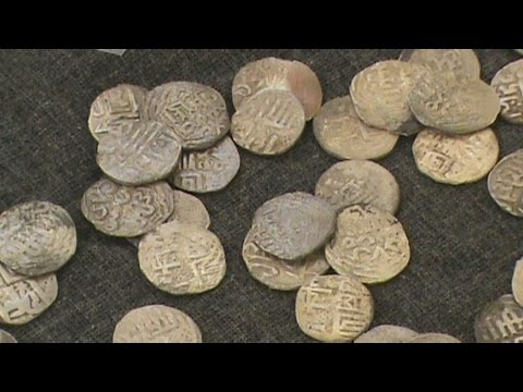 Клад монет Астраханской области