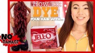 getlinkyoutube.com-How To Dye Your Hair With Jell-O?!?!