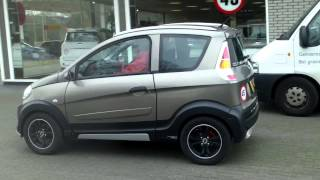 getlinkyoutube.com-Mini Moped Microcar M.go diesel + Cantara sounds , no cardrivinglicense needed !!