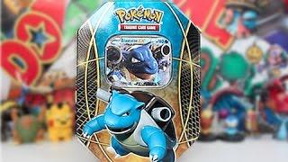 getlinkyoutube.com-Opening A 2014 Pokemon Power Trio Blastoise Tin!!