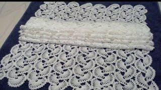 getlinkyoutube.com-Chal de Abanicos Crochet parte 1 de 2