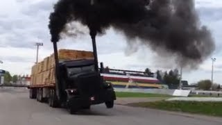 getlinkyoutube.com-11 JDH Peterbilt (Michel Tremblay) Meilleurs moments! Drag