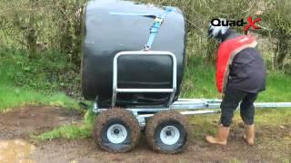 Quad-X Bale Transporter