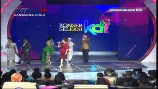 Ayah Ayu Ting Ting Jadi Peserta KDI - Konser Seleksi KDI 2015 (20/3)