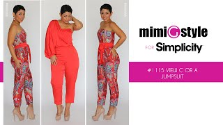 getlinkyoutube.com-How to Sew the Mimi G Style for Simplicity, Pattern 1115 Tutorial. View A or C, Jumpsuit.