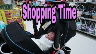 Silicone Baby Outing to Micheal's and Wal-Mart - Feeding Silicone Baby Doll In Public