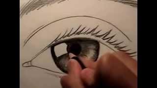 getlinkyoutube.com-สอนวาดรูปตา ด้วยดินสอ