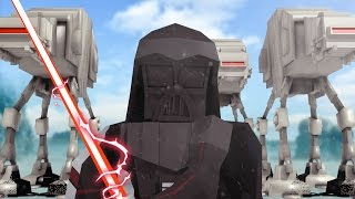getlinkyoutube.com-Minecraft | Good vs Evil - STAR WARS HOTH INVASION! (Darth Vader vs Luke Skywalker)