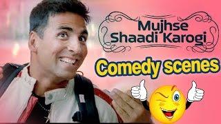 All Comedy Scene of Mujhse Shaadi Karogi - Salman Khan   Akshay Kumar   Priyanka Chopra