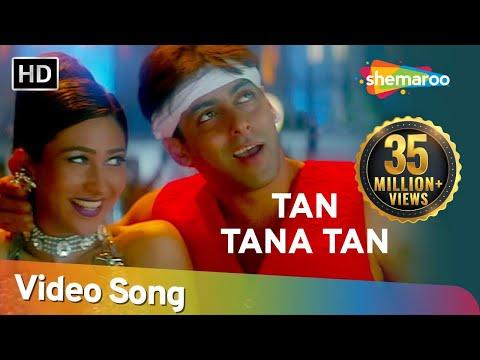 Tan Tana Tan Tan Taara - Salman Khan - Karishma Kapoor - Judwaa Songs - Abhijeet - Poornima