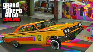 getlinkyoutube.com-DLC LOWRIDERS GTA 5 ONLINE