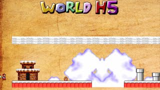 getlinkyoutube.com-Mario Forever - World H5 by Mario2233 Walkthrough [HD]