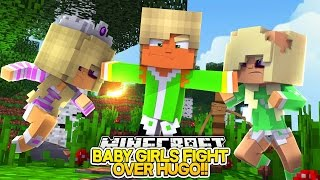 Minecraft Adventures - JEALOUS BABY LEAH HAS GIRL FIGHT WITH BABY HUGO'S GIRLFRIEND!!