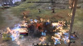 getlinkyoutube.com-[ESO Outnumbered PvP] Etaniel - Alliance War Brigadier [Smurf Squad]