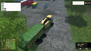 getlinkyoutube.com-Farming Simulator 2015 Krone Big X 650 Cargo V4.0 Combine Mod