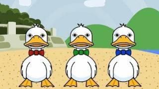 getlinkyoutube.com-Six Little Ducks | Family Sing Along - Muffin Songs