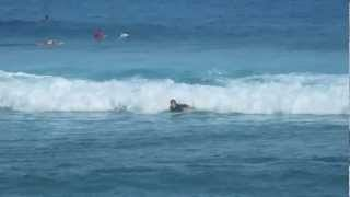 getlinkyoutube.com-surfing Cabarete, Dominican republic, Bobo's Surfs Up school