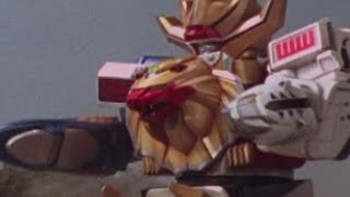 Wild Force Megazord First Fight (Power Rangers Wild Force) - Debut