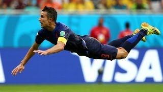 Robin Van Persie Flying Head Goal - Most Amazing Goal Ever / EL VUELO DEL ÁNGEL ...