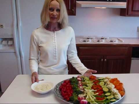 Betty's Fourth of July Celebration Veggie Relish Tray Recipe