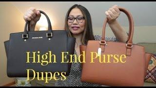 High End Purse Duplicate Haul | MK & Celine