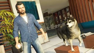 getlinkyoutube.com-GTA 5 Real Life Mod #22 - Animal Pet Shop, Buying a Dog & NEW HOUSE!! (GTA 5 Mods Gameplay)