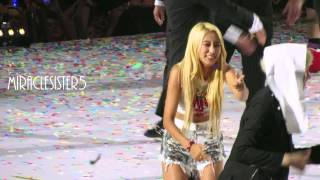getlinkyoutube.com-[FANCAM] Bora being silly with Heechul @ KCON LA