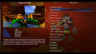 getlinkyoutube.com-How To Set Up Nintendo 64 in Kodi - Rom Collection Browser