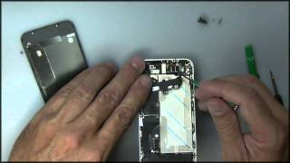 getlinkyoutube.com-Iphone 4 touch screen removal instructions