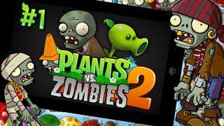 getlinkyoutube.com-새로운 캐릭터,왕좀비,식물강화?! 식물대좀비 투! 1편(plants vs zombies 2) - 모바일 Mobile [양띵TV삼식]