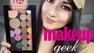getlinkyoutube.com-My MAKEUP GEEK Eyeshadow Palette Collection
