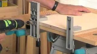 getlinkyoutube.com-3750 Wolfcraft Нр  для выполнения соеденения при помощи деревяных шипов
