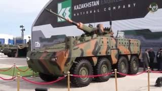getlinkyoutube.com-Barys 8x8 armoured infantry fighting vehicle unveiled KADEX 2016 Paramount Group Kazakhstan Engineer