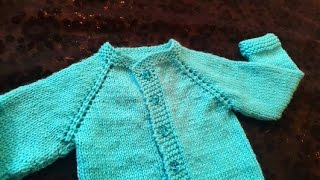 getlinkyoutube.com-Cardigan Baby Sweater (1 Year Baby) in Urdu/Hindi by Azra Salim